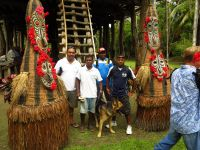 Kalibobo Spirit Crew at Kanganaman Village