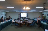 AUst/PNG Ministerial Meeting in Sana Room, Madang Resort