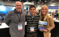 MTS and Niugini Dive Adventures was represented at DEMA by Takahiro Yamaguchi