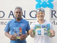 Testu & Naca with the new Dive Book