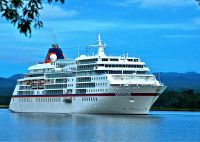 Europa Arriving in Madang