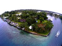 Madang Resort from Drone