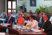 Julie Bishop attending the Australia/PNG Ministerial Meeting at the Madang Resort