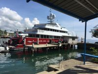 M/Y Qing at Madang Resort Marina